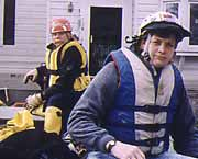 Flood rescue in 1993