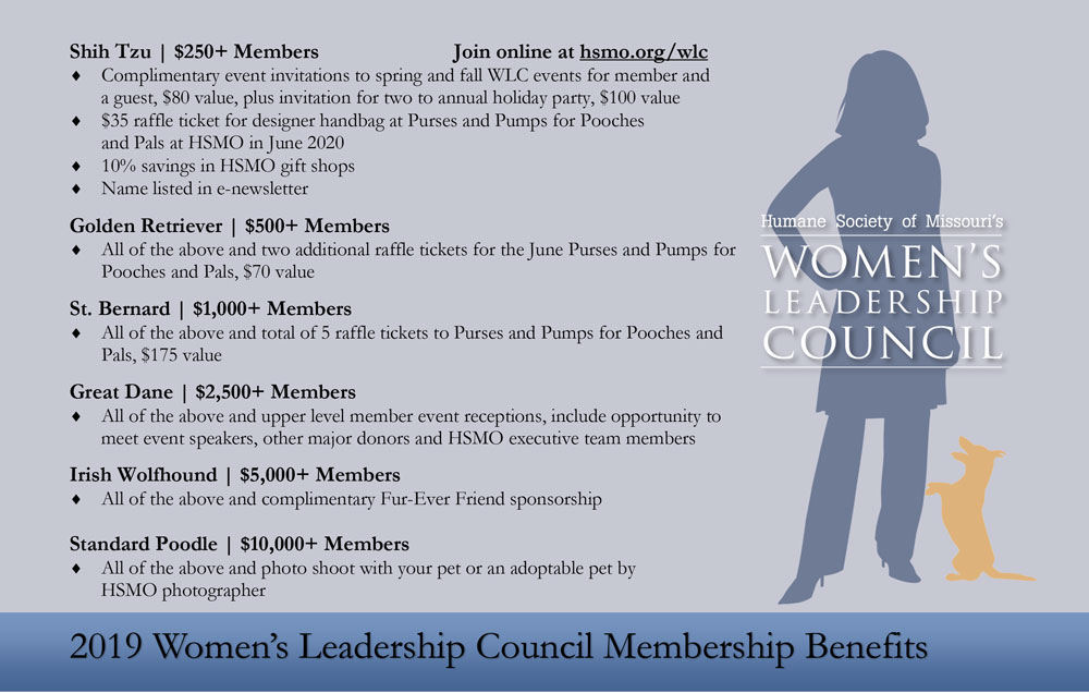 Exciting benefits when you become a member of the WLC
