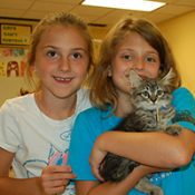 Kids for Critters campers