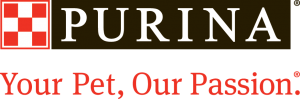 Purina logo - sponsor of telethon bark in the park and other events