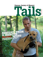 Tails Magazine Cover fall 2009