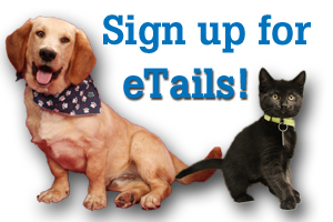 Sign up for monthly newsletter eTails!