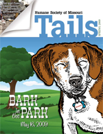 Tails Magazine Cover Spring 2009