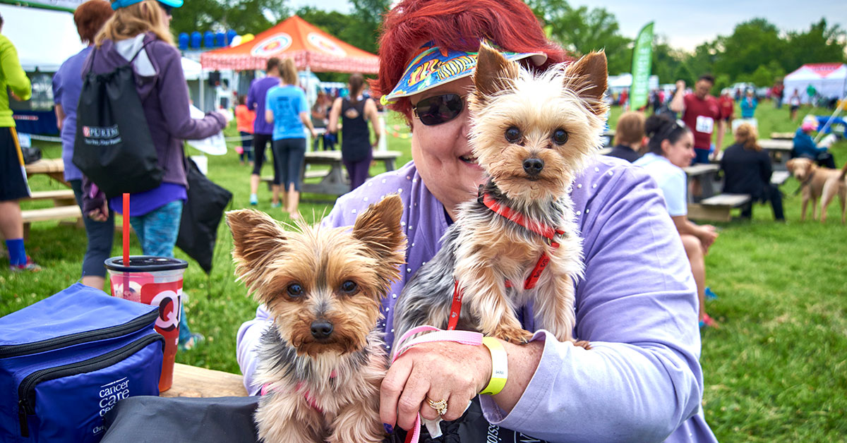 Join us at Bark in the Park, sponsored by Purina, on May 20 in Forest Park!